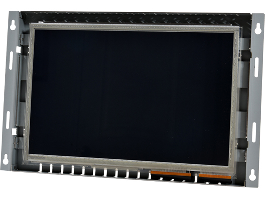 12-in sunlight readable industrial touchscreen monitor.