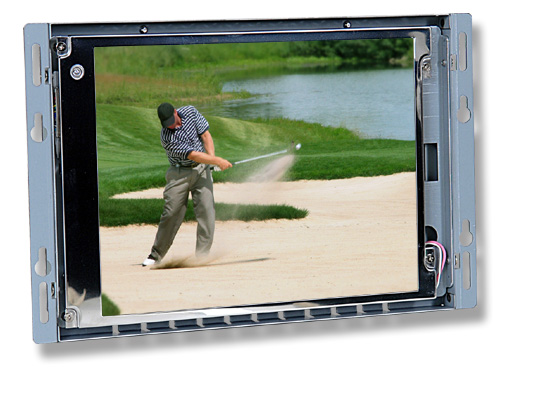 8 inch sunlight readable LCD open frame monitor