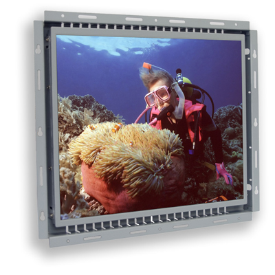 17 inch sunlight readable LCD open frame monitor
