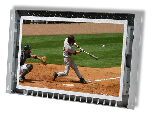 12 inch high bright LCD open frame monitor