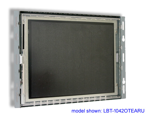 10 inch LCD open frame touch screen monitor