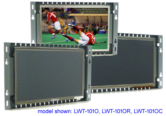 LCD open frame monitor and touch screen monitor
