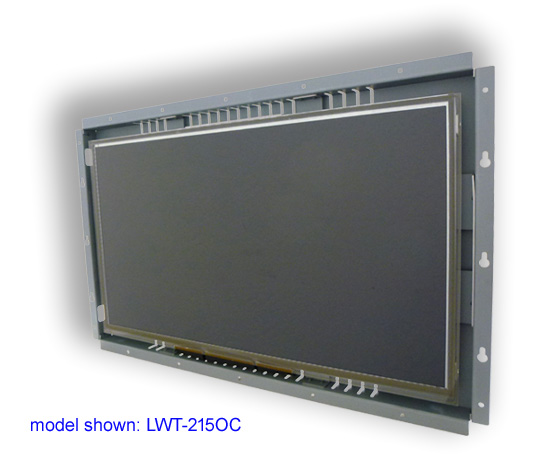 22 inch LCD open frame touch screen monitor