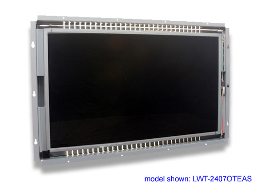 24 inch LCD open frame touch screen monitor