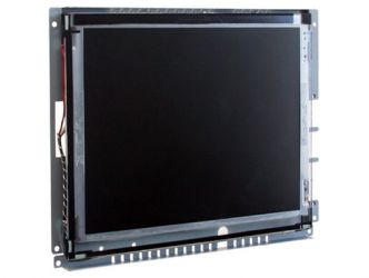 12-in SAW industrial touch screen display monitor front view