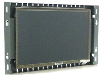 10.1-in resistive industrial touch screen display monitor front view