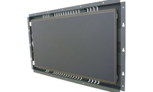 21.5-in resistive industrial touch screen display monitor front view