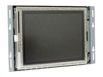 8.4-in industrial touch screen display monitor front view