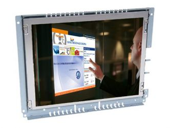 12-in open frame display monitor front view