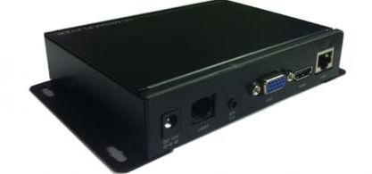MP-1080N digital signage player back view
