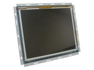 17-in SAW industrial touch screen display monitor front view