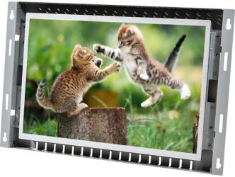 12-in widescreen open frame display monitor front view