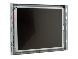 10.4-in SAW industrial touch screen display monitor front view