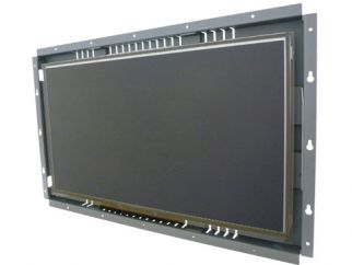 18.5-in capacitive industrial touch screen display monitor front view