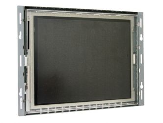10.4-in resistive industrial touch screen display monitor front view