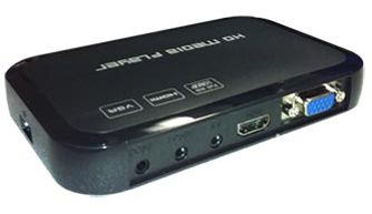 MP-1080B digital signage player back view