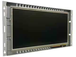15.6-in PCAP industrial touch screen display monitor front view