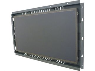 18.5-in resistive industrial touch screen display monitor front view