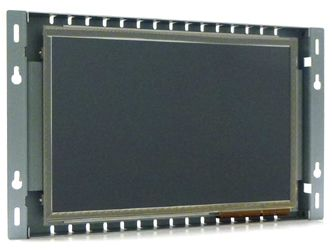 10.1-in PCAP industrial touch screen display monitor front view