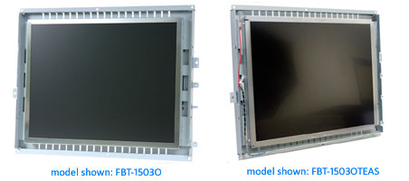 open frame monitor and open frame touch screen monitor
