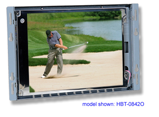 8 inch LCD open frame monitor