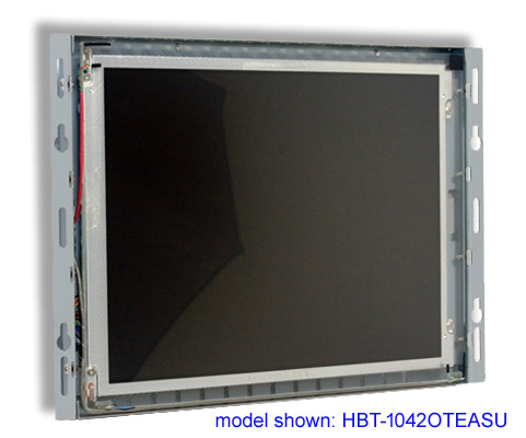 high bright LCD SAW open frame touch screen monitor