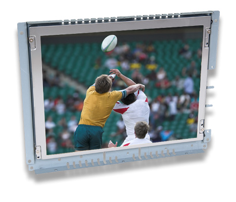 12 inch sunlight readable LCD touch screen open frame monitor