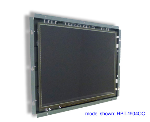 high bright LCD open frame touch screen monitor