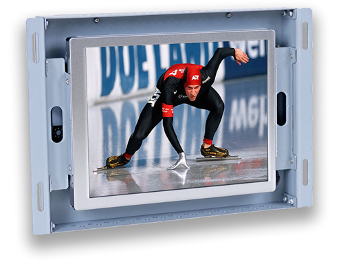 6 inch LCD touch screen open frame monitor