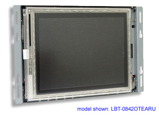 LCD resistive open frame touch screen monitor