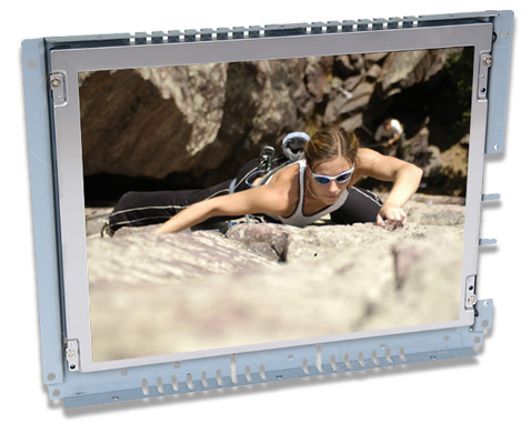 12 inch LCD touch screen open frame monitor