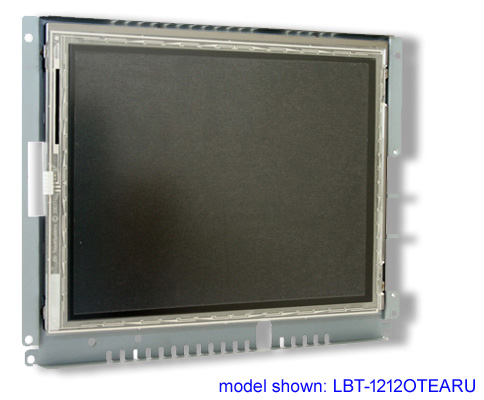 12 inch LCD open frame touch screen monitor