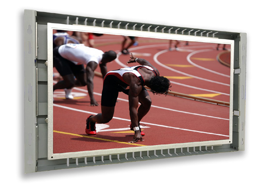 15 inch LCD touch screen open frame monitor