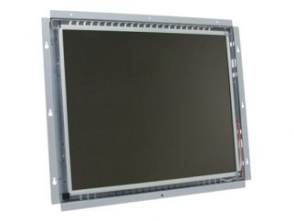 19-in SAW industrial touch screen display monitor front view