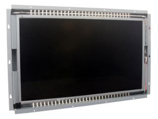 24-in SAW industrial touch screen display monitor front view